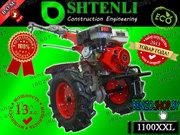 Мотоблок Shtenli 1100XXLExclusive 13 HP с ВОМ и фарой