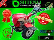 Тяжелый мотоблок Shtenli 1600 16 л.с./бензин с валом отбора мощности