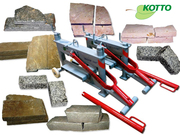 Нож-гильотина для резки тротуарной плитки,  природного камня