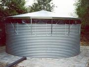 Резервуары для хранения воды и поливочных растворов.
