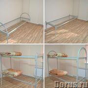 Металлические  кровати армейского типа