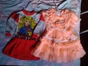 платья блузы туники для девочек от 3х до 10 лет
