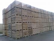 Деревянные ящики для фруктов и овощей